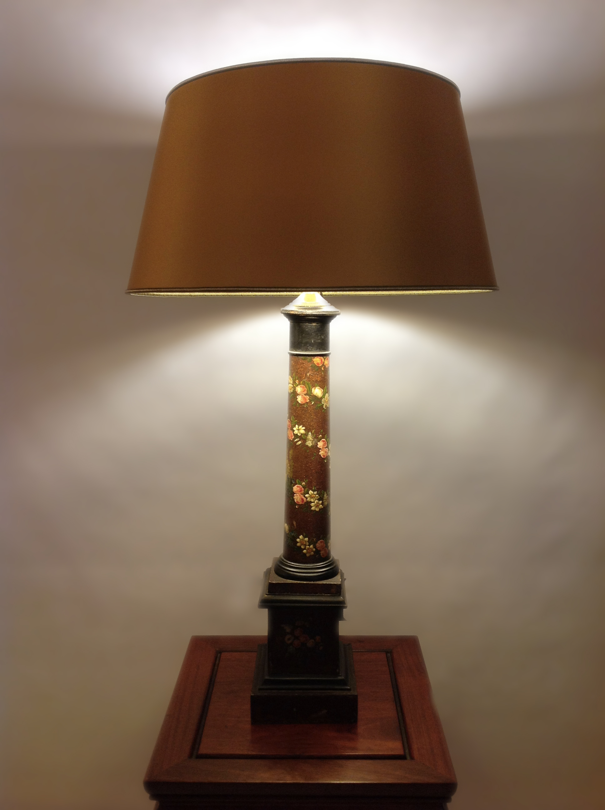 abat jour classique contrecoll horthense. Black Bedroom Furniture Sets. Home Design Ideas